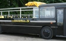 åben top sort partybus