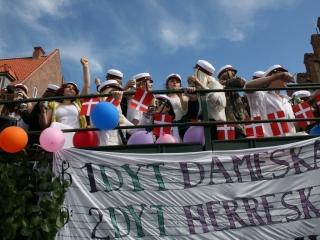 studentervogn på Køge torv