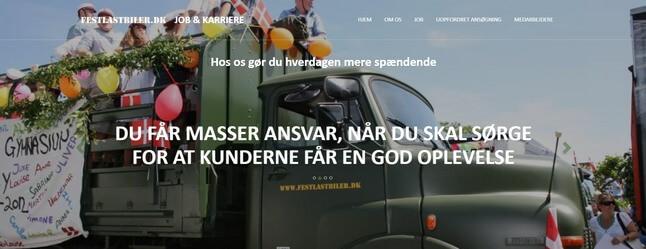 transport arbejde søges